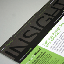 Anabas newsletter design and print