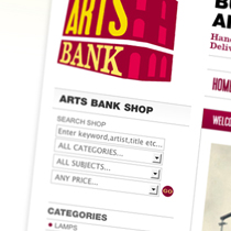 Artsbank Website Index