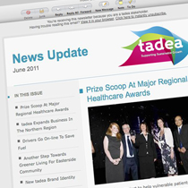 Tadea email newsletter index