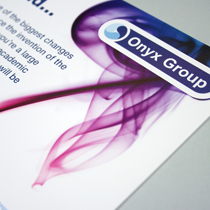 Onyx group Marketing material