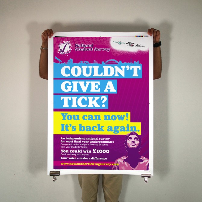 NUSU National student survey 2009 marketing campaign