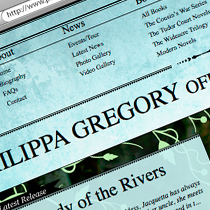 Philippa Gregory Website - Headline