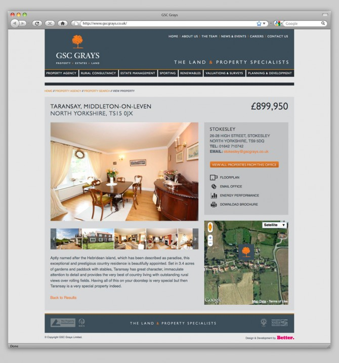 GSC Grays Website - View Property