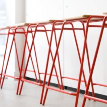 Deadgood Red Stools