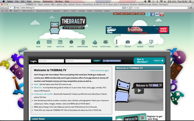 TheBrag.tv - Online Community for Teesside