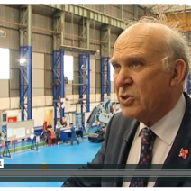 Vince Cable Interview Image