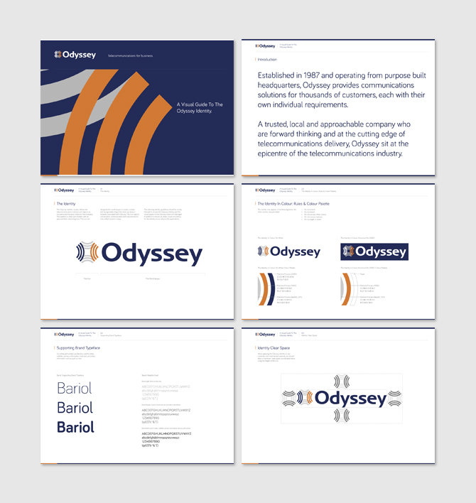 Odyssey - Brand Development, Language and Identity Guidelines