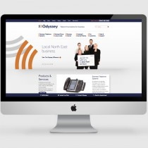 Odyssey - Website Design and Development including Bespoke Wordpress CMS Platform (homepage)
