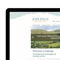 Joplings - Brand Identity Evolution, Marketing and Website Design (index)