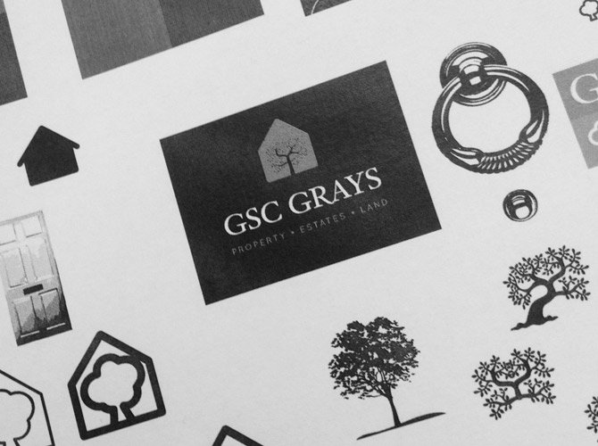 GSC Grays (Sketches) - Brand Development, Creative, Brand Identity, Brand Guidelines