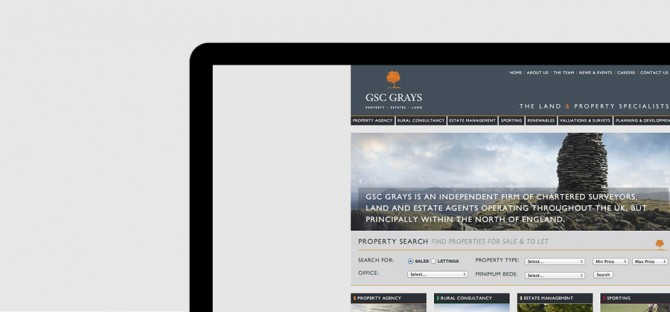 GSC Grays - Brand Development, Creative, Brand Identity, Brand Guidelines, Markting, Website Design & Development