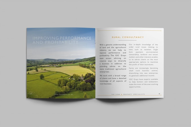 GSC Grays - Brochure Design and Marketing Materials
