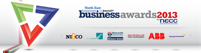 North East Business Awards 2013 - Best Creative Business Award