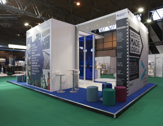 PD Ports Exhibition Stand - Better Brand Agency
