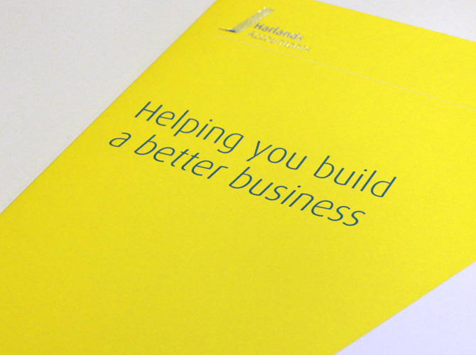 Harlands Accountants - Brand Design and Development