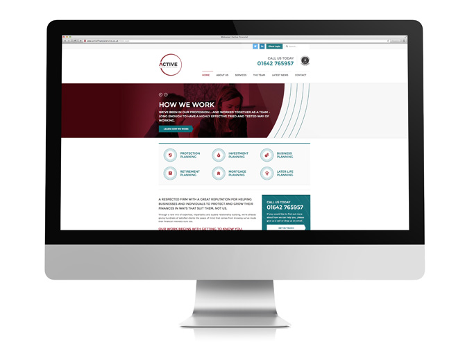 Active Chartered Financial Planners website