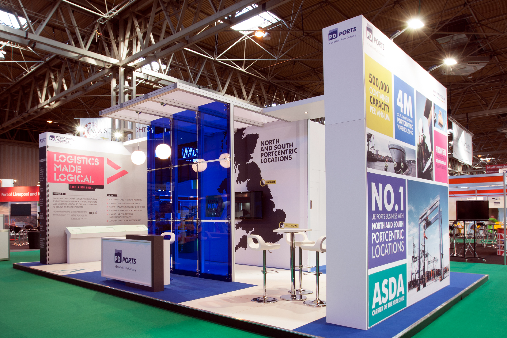 PD Ports - BetterBrandBuilder™ - DELIVER - Exhibitions Stand Design