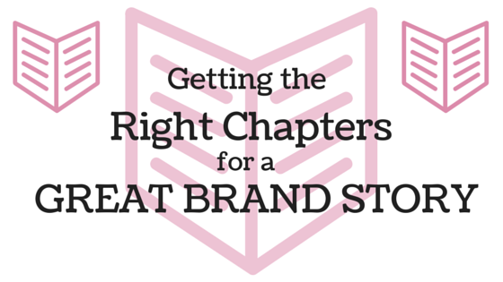 Getting the Right Chapters for a Great Brand Story blog header
