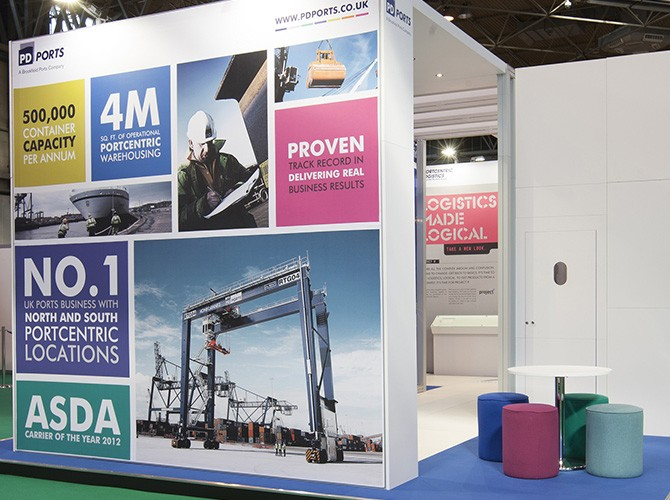 Exhibition Stand Management : Pd ports better brand agency