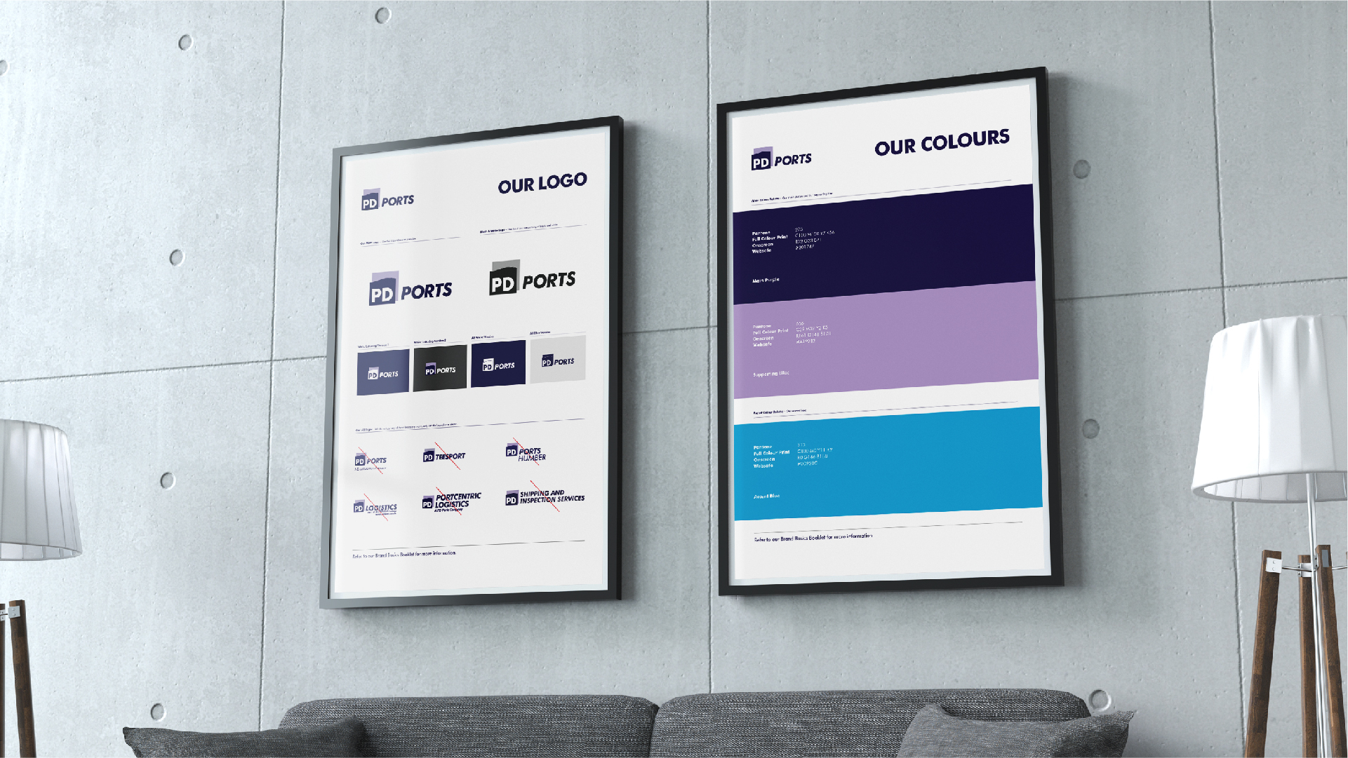 PD Ports - BetterBrandBuilder™ CREATE - Brand Guidelines