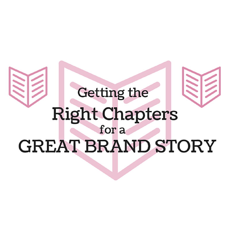 Getting the Right Chapters for a Great Brand Story blog cover image