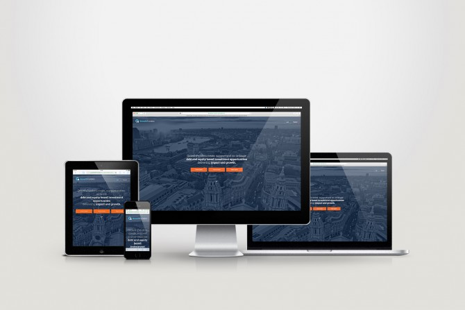 GrowthFunders New Homepage Design & Responsive Theme Development
