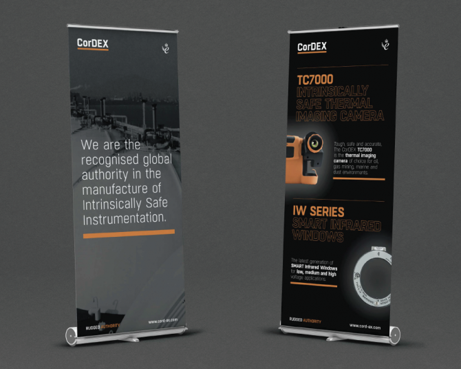 CorDEX - Event Literature and Banner Design
