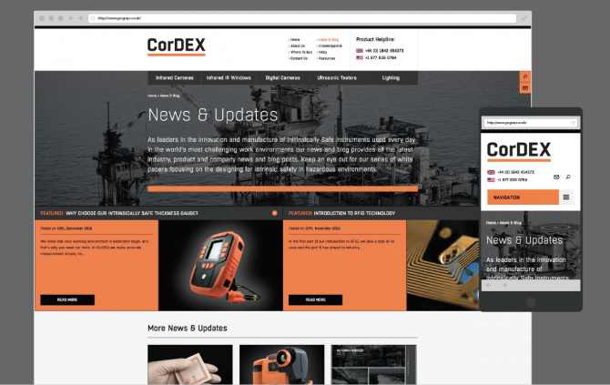 CorDEX - Website Design and Development, Inbound Marketing, Social Media Support