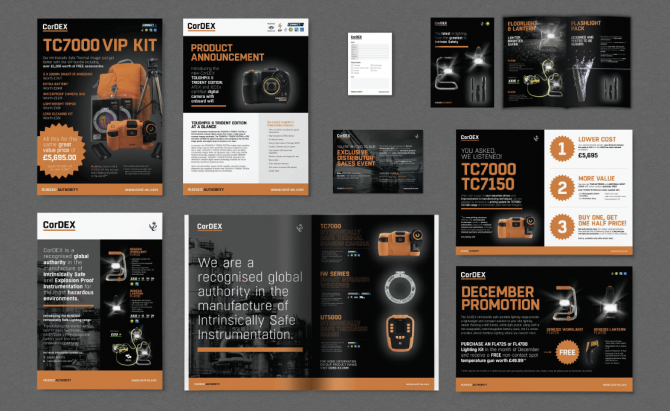 CorDEX - Marketing Materials, Catalogue Design, Sales Literature and Promotions