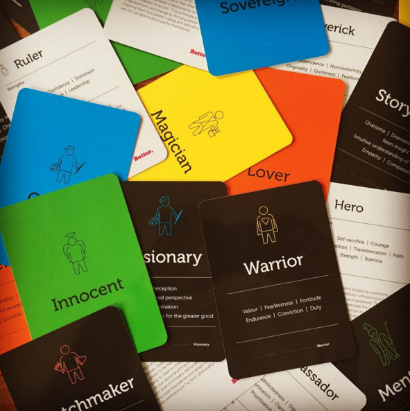 Archetypes in Branding cards
