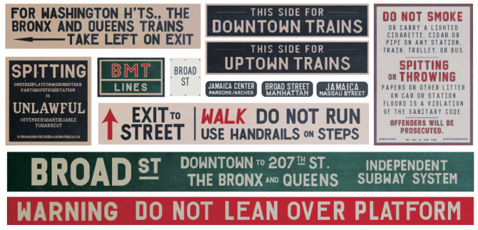Bridge of Spies signage by Annie Atkins discussed at D&AD