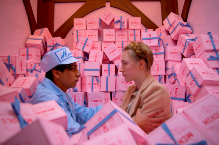 Annie Atkins talk at D&AD discussing Grand Budapest Hotel props