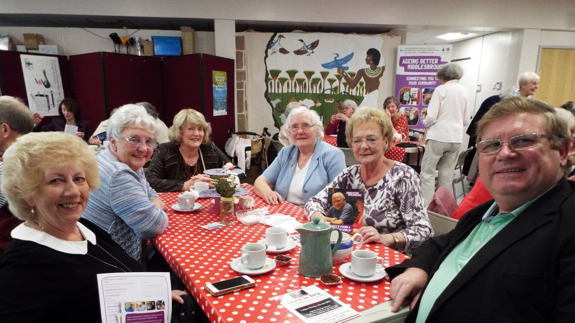 UK Older People's Day - Ageing Better Middlesbrough