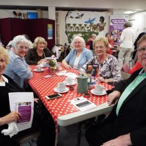 Ageing Better Older People's Day 2016 group image.