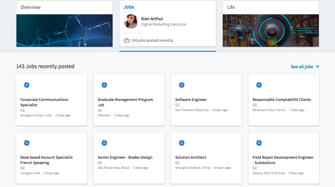 The Long Awaited LinkedIn Company Pages Revamp screen 2