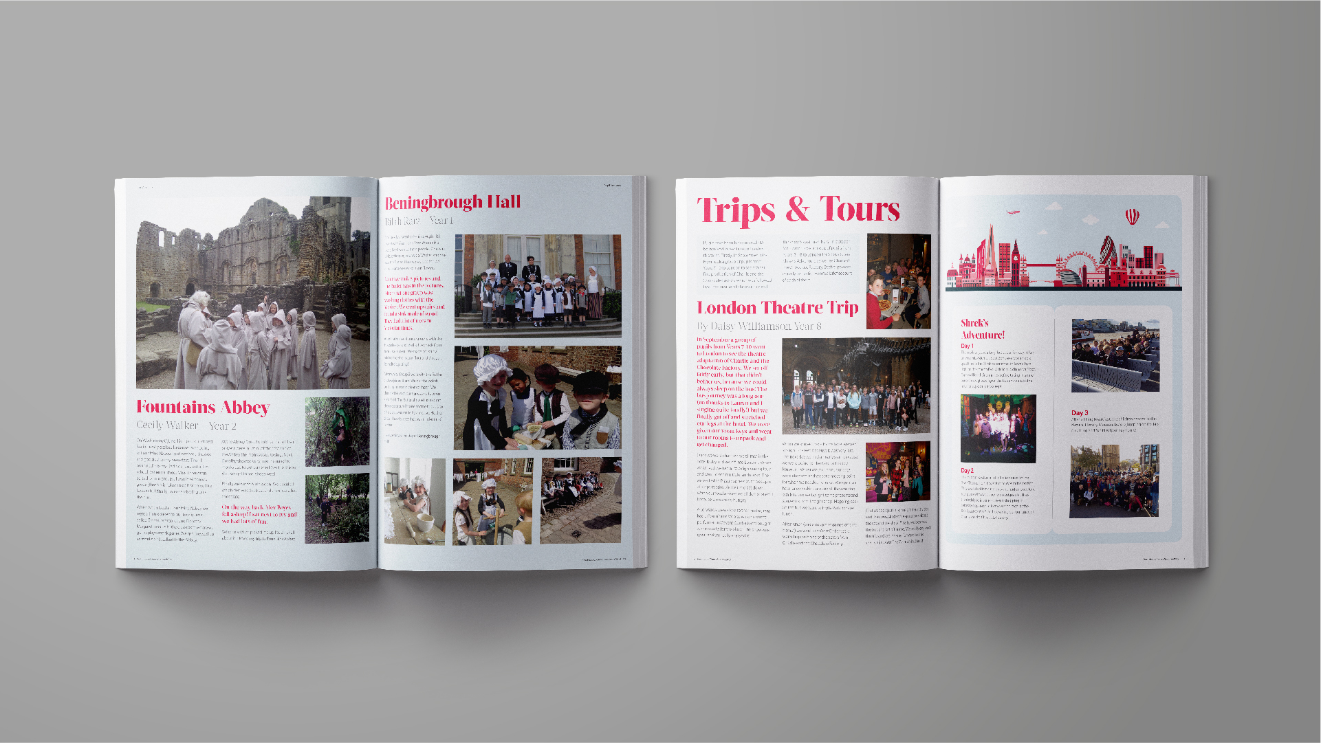 BetterBrandBuilder™ - DELIVER Yearbook Design - Red House School.