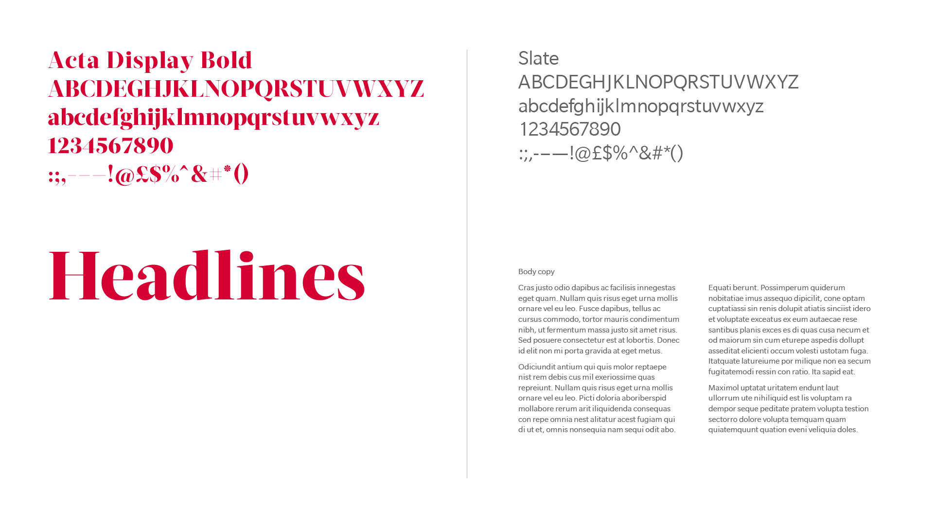 BetterBrandBuilder™ - CREATE Typeface Development - Red House School.