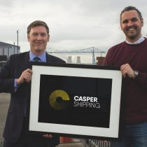 Mark and Michael Casper Shipping rebrand