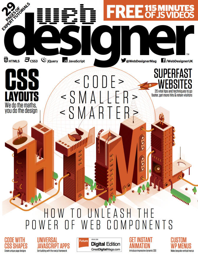 Web Designer Issue 259 Front Cover