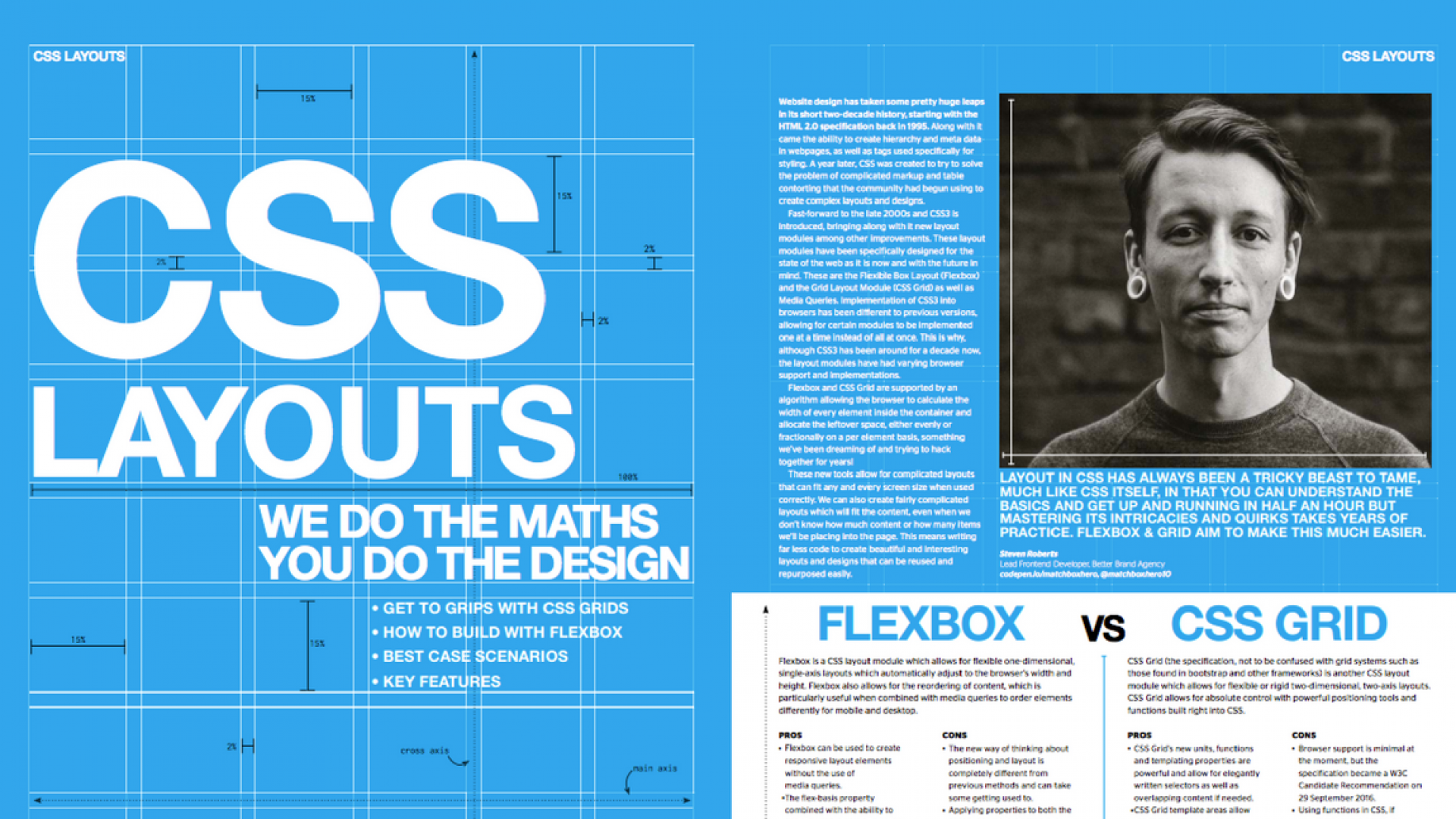 CSS Feature in Web Designer Magazine Ste