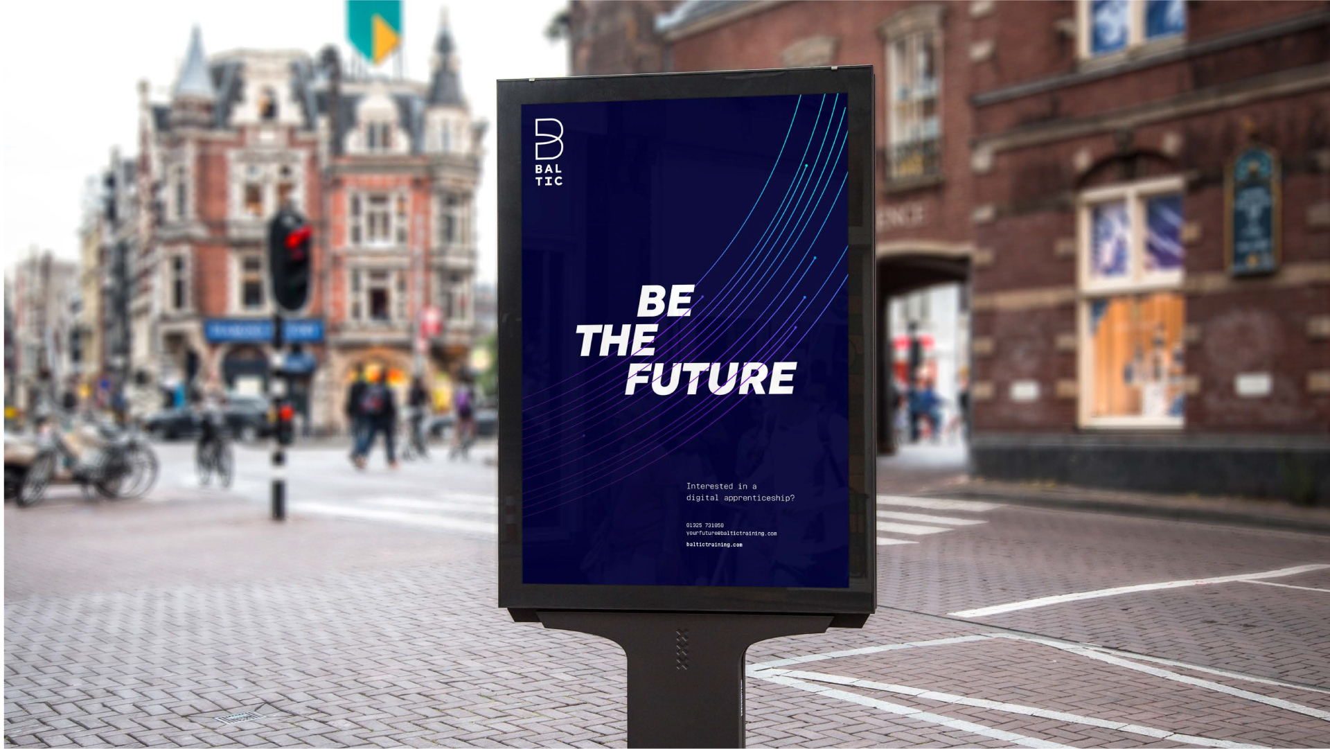 BetterBrandBuilder™ - DELIVER Be The Future Energy Campaign - Baltic
