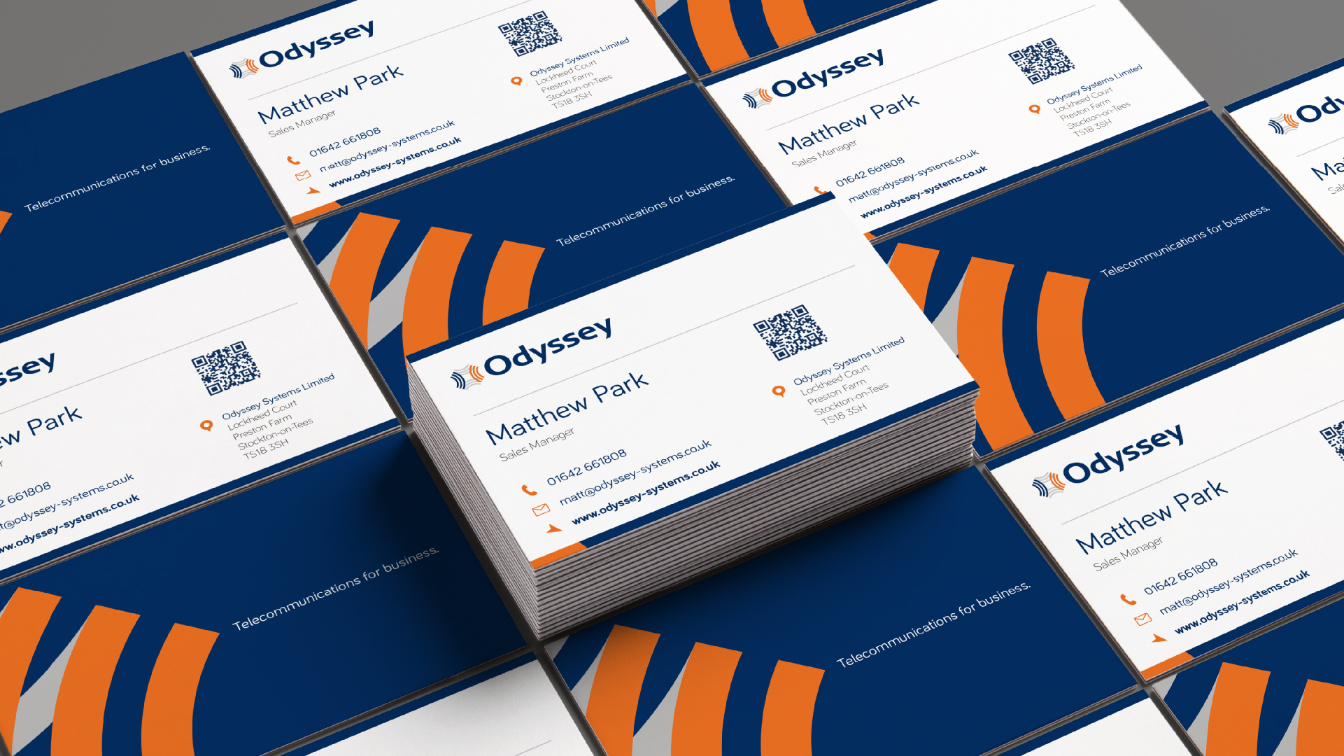 Odyssey - BetterBrandBuilder™ DELIVER - Corporate Stationery