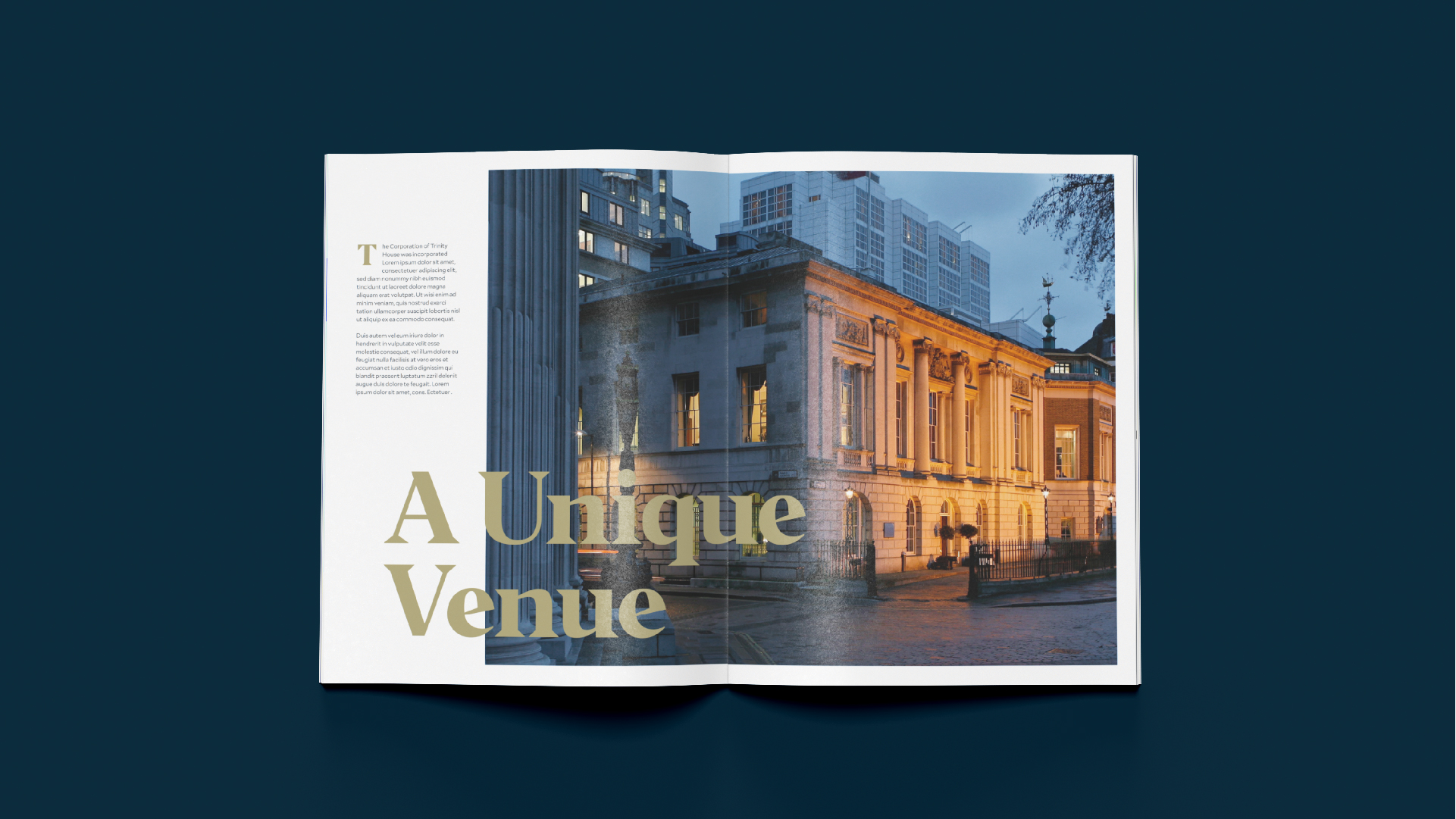 Trinity House - BetterBrandBuilder™ DELIVER - Brand Brochure