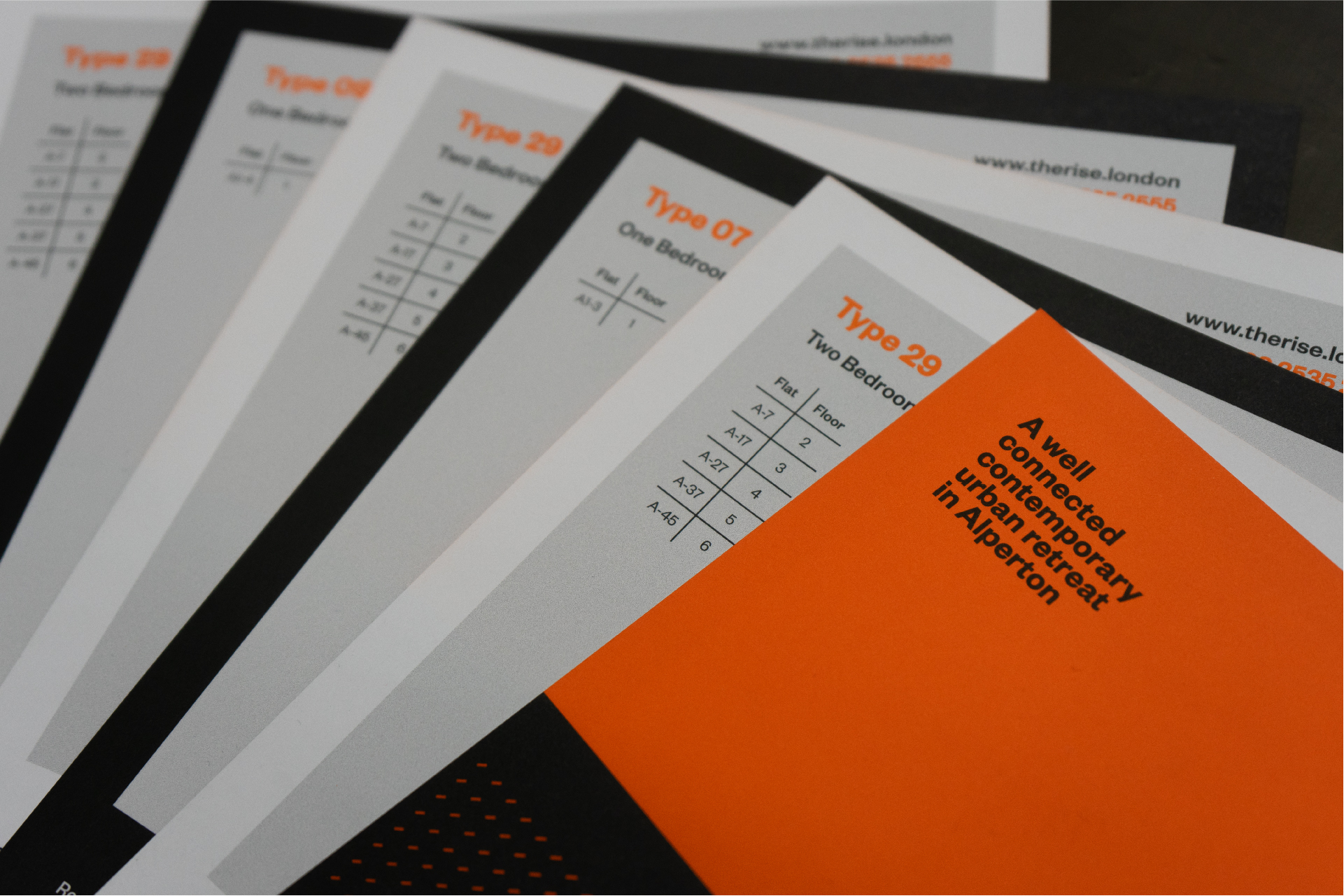 The Rise - BetterBrandBuilder™ DELIVER - Property Inserts Design and Production
