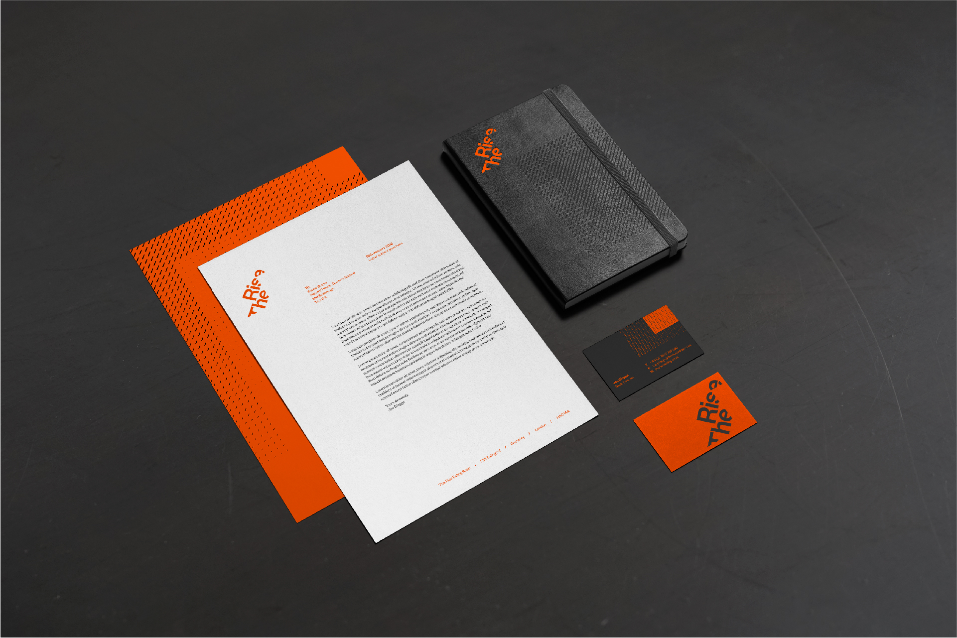 The Rise - BetterBrandBuilder™ DELIVER - Stationary Design and Production