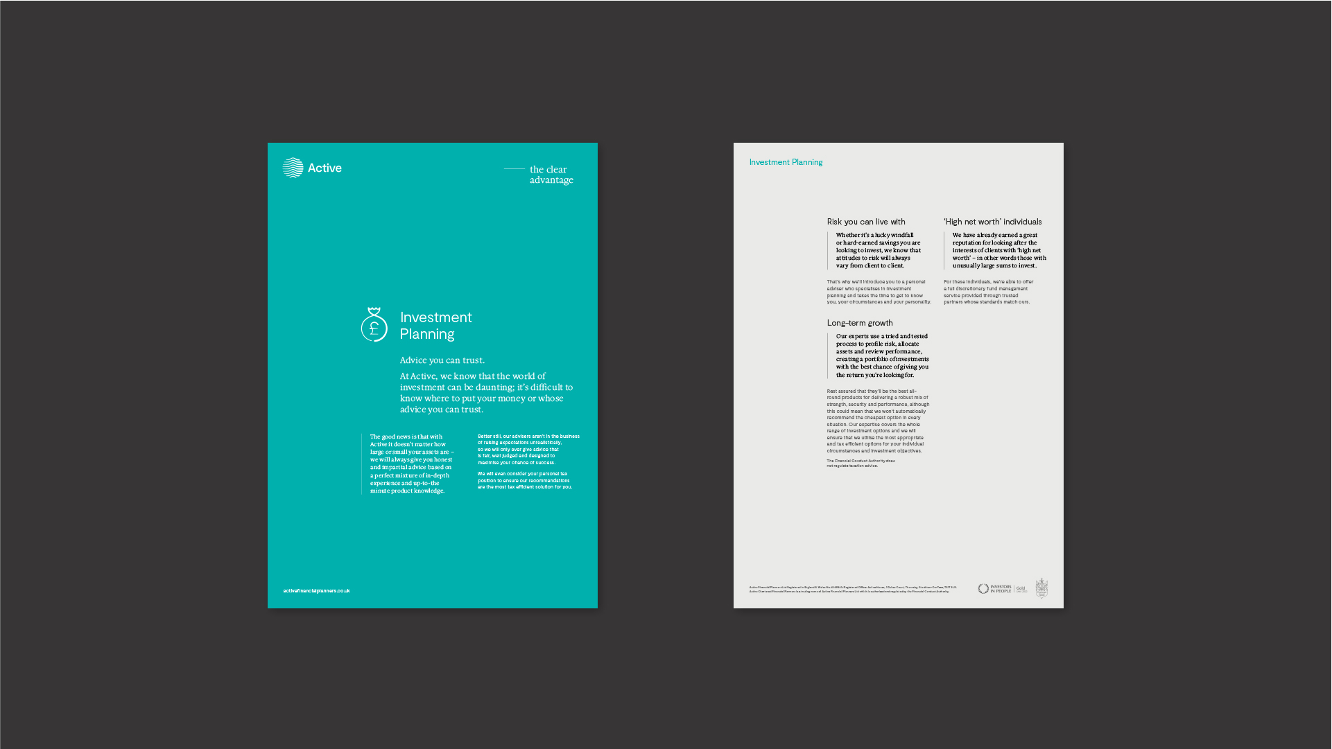 Active - BetterBrandBuilder™ DELIVER - Brochure Design