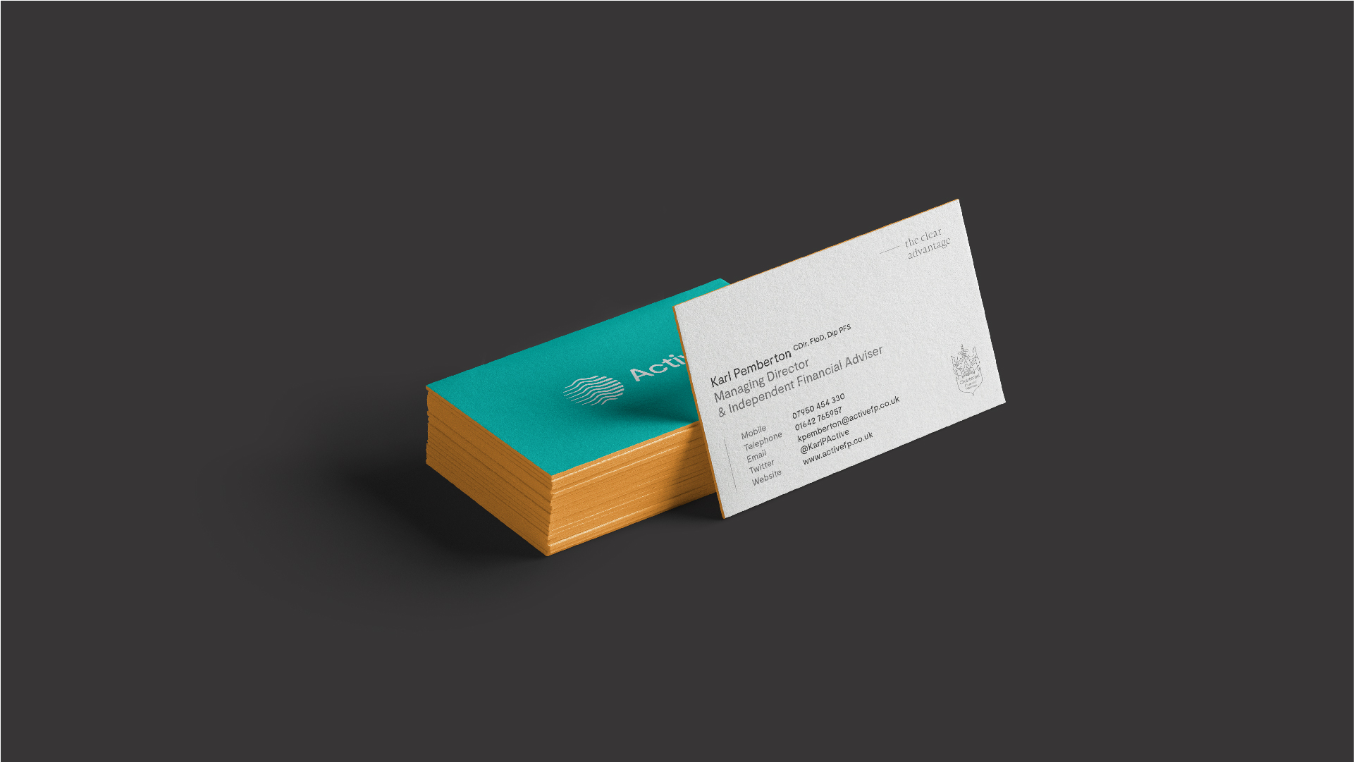 Active - BetterBrandBuilder™ DELIVER - Business Card Design