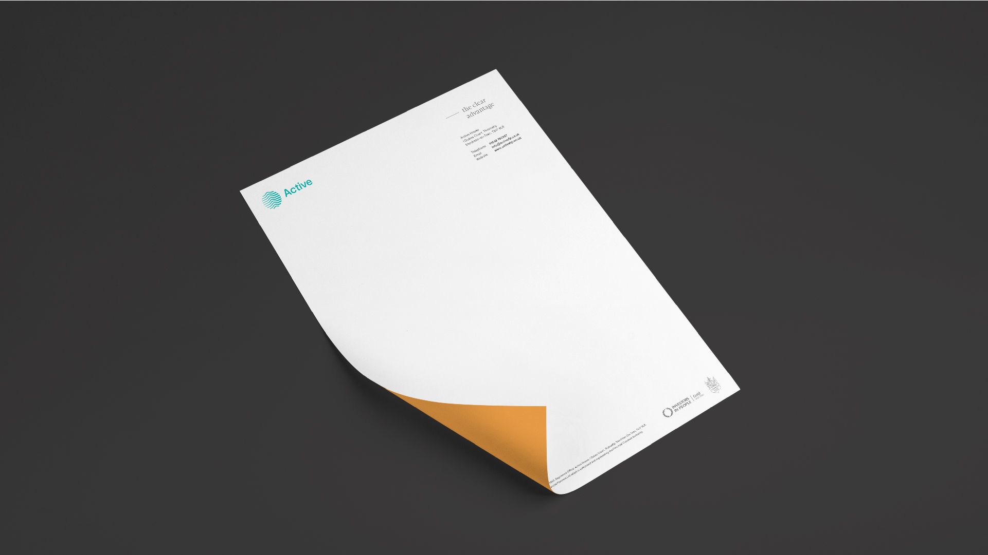 Active - BetterBrandBuilder™ DELIVER - Letterhead Design
