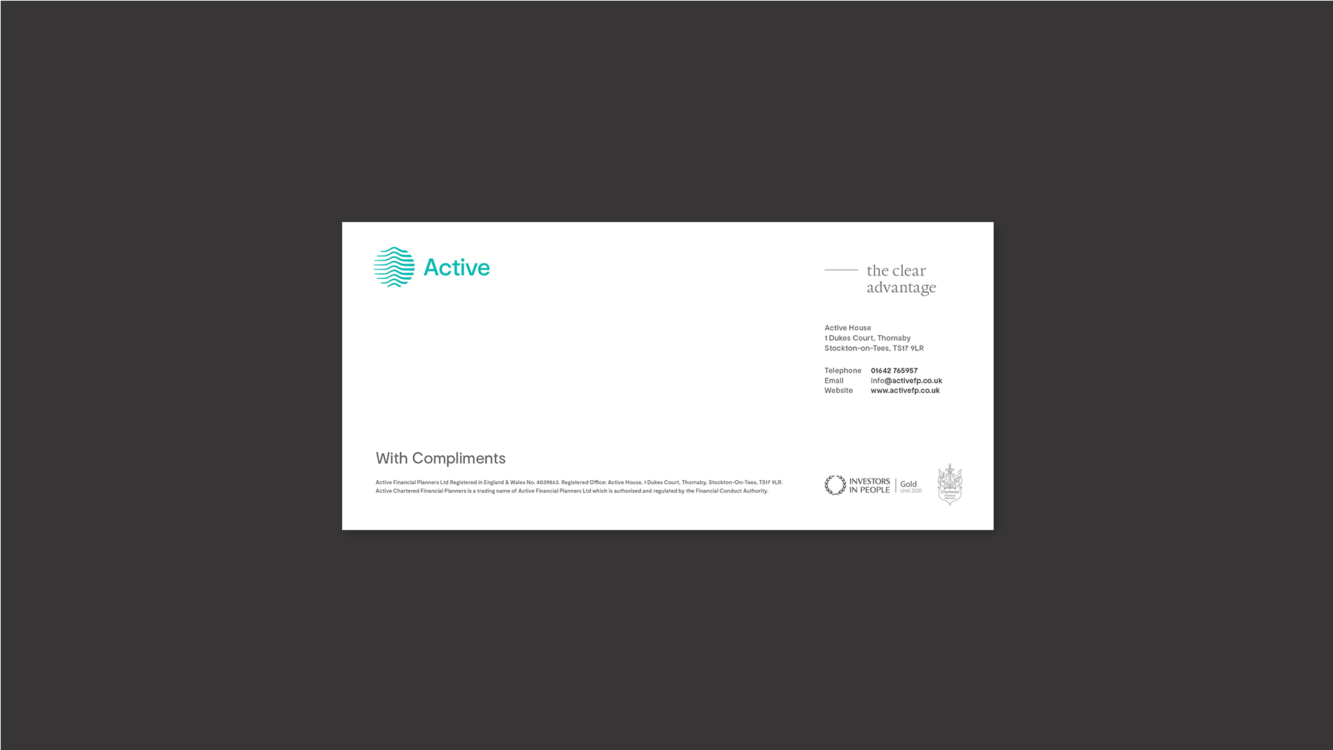 Active - BetterBrandBuilder™ DELIVER - Stationery Design