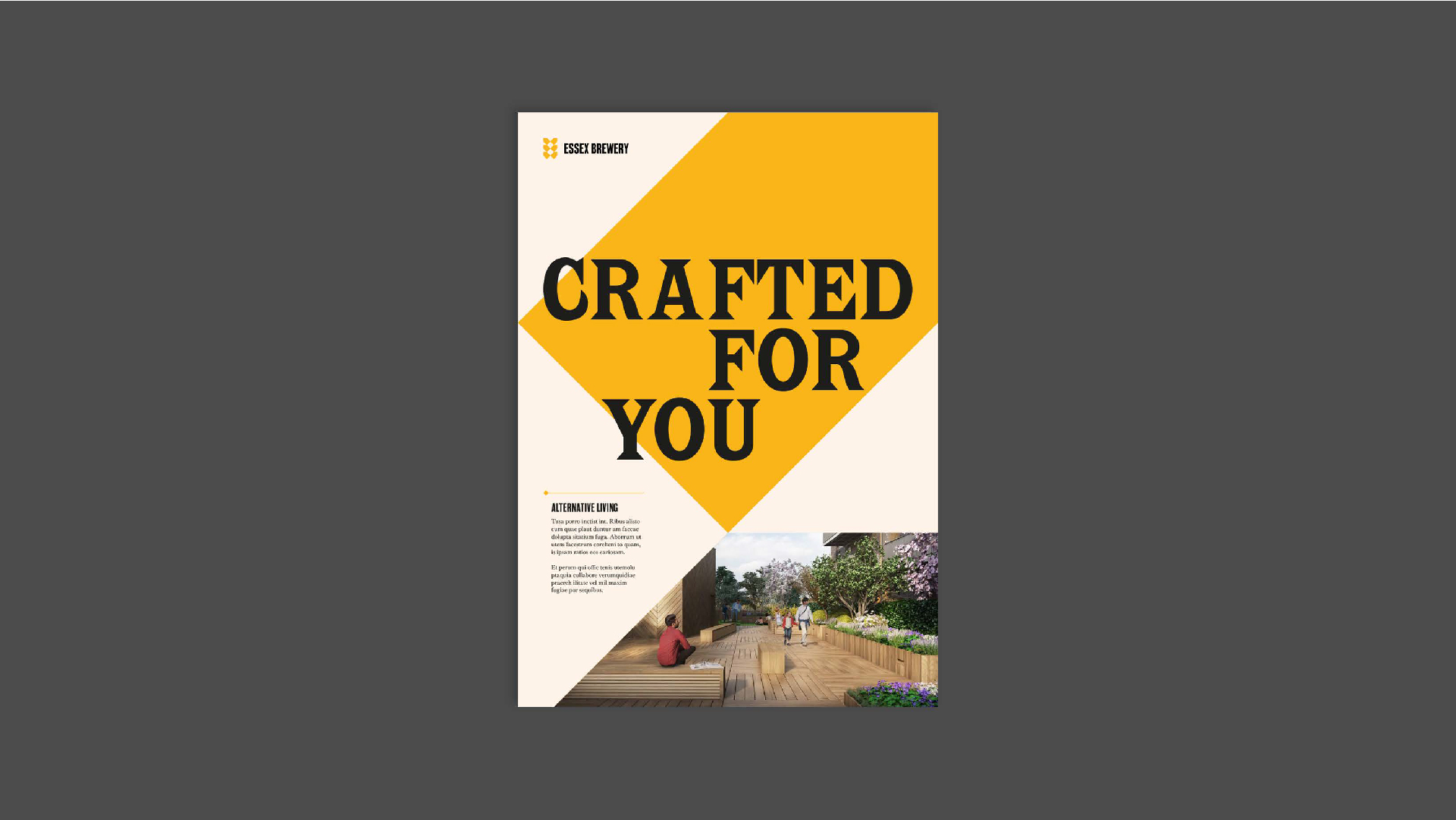 Essex Brewery - BetterBrandBuilder™ DELIVER - Brochure Design